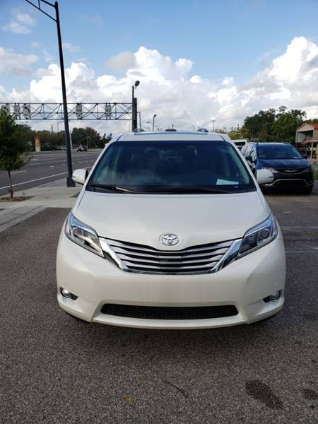 Tss Daily Spoiler >> 2017 Toyota Sienna Limited Premium 7-Passenger 4dr Mini-Van In Lakeland FL - The Mobility Van Store