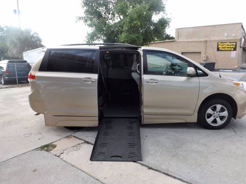 2012 Toyota Sienna for sale at The Mobility Van Store in Lakeland FL