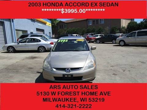 2003 Honda Accord For Sale in Milwaukee, WI - Carsforsale.com