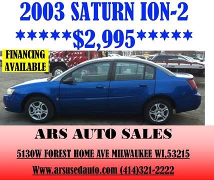 2003 Saturn Ion