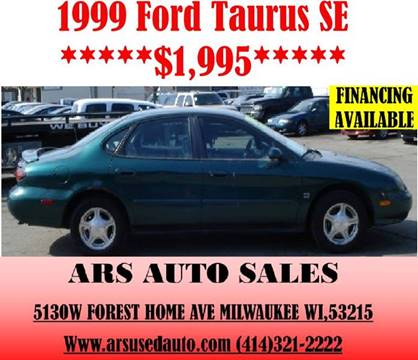 1999 Ford Taurus for sale in Milwaukee, WI