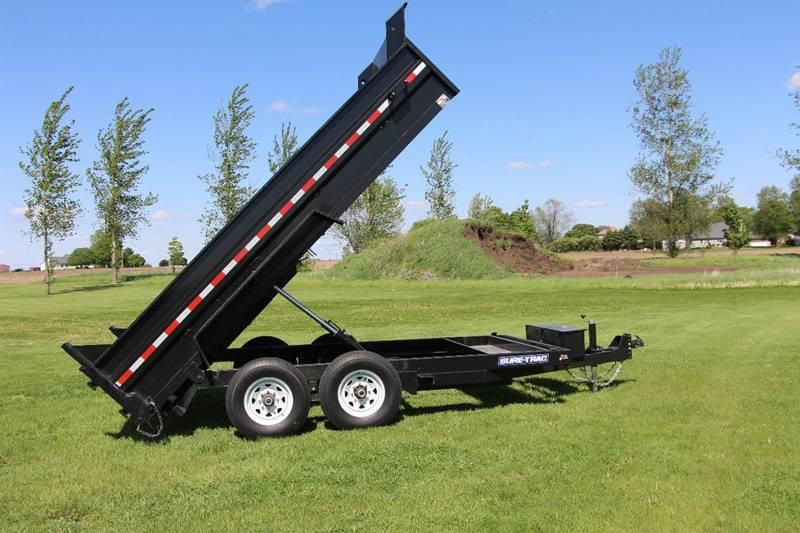 2020 Sure-Trac 12 Foot HD Low Profile Dump for sale at Crossroads Used Cars Inc. in Tremont IL