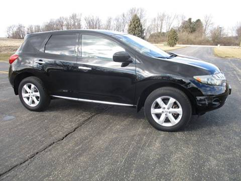 2009 Nissan Murano S for sale at Crossroads Used Cars Inc. in Tremont IL