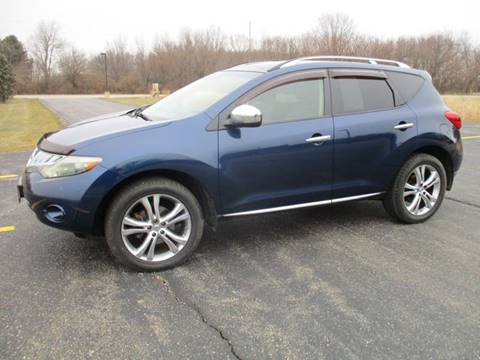 2009 Nissan Murano LE for sale at Crossroads Used Cars Inc. in Tremont IL