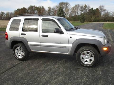 2002 Jeep Liberty for sale in Tremont, IL
