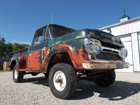 1960 Ford F-100 4X4