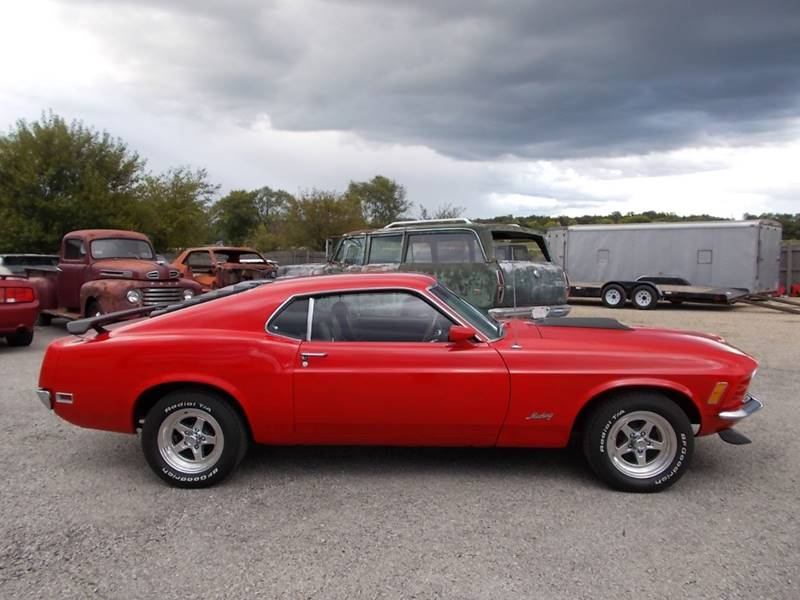 1970 Ford Mustang for sale at 500 CLASSIC AUTO SALES in Knightstown IN