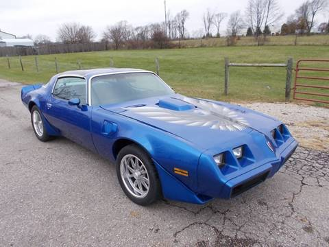 1980 Pontiac Trans Am for sale at 500 CLASSIC AUTO SALES in Knightstown IN