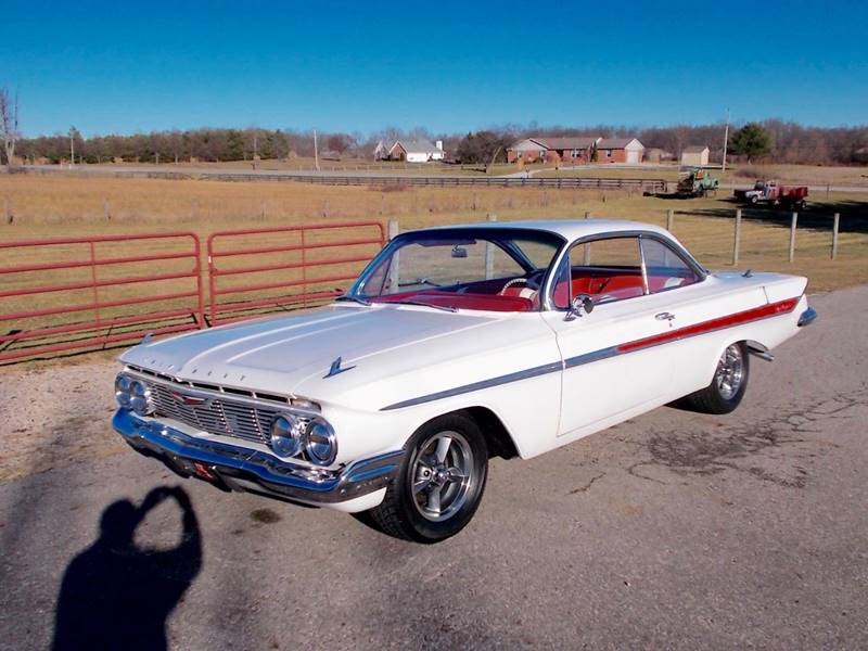 1961 Chevrolet Impala for sale at 500 CLASSIC AUTO SALES in Knightstown IN