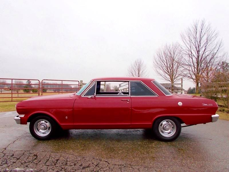 1963 Chevrolet Nova for sale at 500 CLASSIC AUTO SALES in Knightstown IN