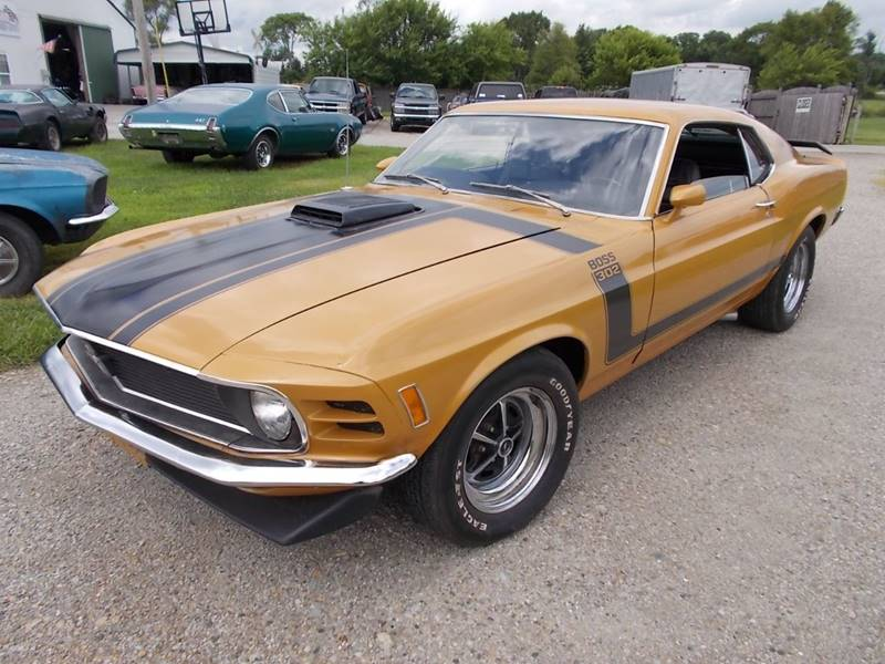1970 Ford Mustang Boss 302 for sale at 500 CLASSIC AUTO SALES in Knightstown IN