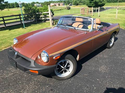 1979 MG MGB for sale at 500 CLASSIC AUTO SALES in Knightstown IN