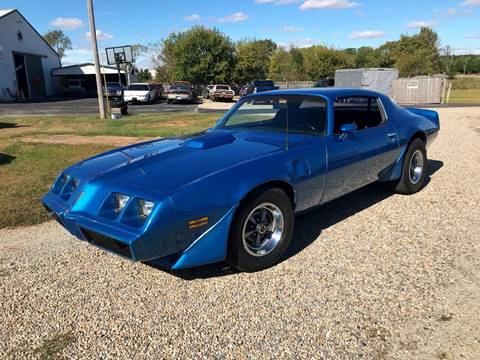 1980 Pontiac Firebird Trans Am for sale in Knightstown, IN