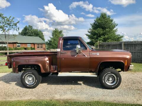 1978 Chevrolet C/K 10 Series for sale at 500 CLASSIC AUTO SALES in Knightstown IN