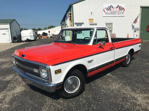 1970 Chevrolet C/K 10 Series for sale at 500 CLASSIC AUTO SALES in Knightstown IN
