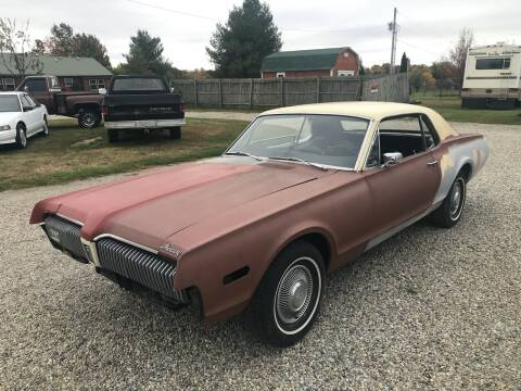 1968 Mercury Cougar for sale at 500 CLASSIC AUTO SALES in Knightstown IN