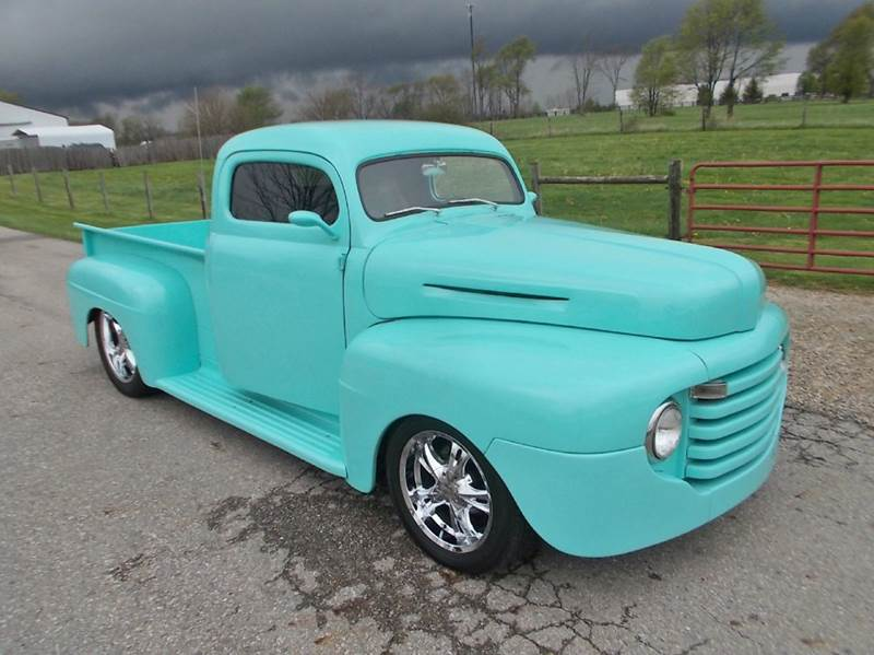 1950 Ford F-100 for sale at 500 CLASSIC AUTO SALES in Knightstown IN