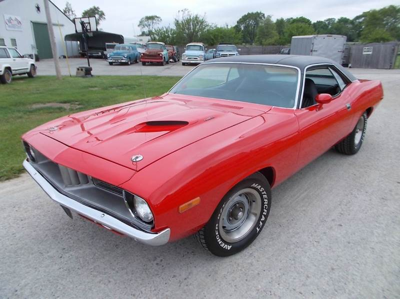 1973 Plymouth Barracuda for sale at 500 CLASSIC AUTO SALES in Knightstown IN
