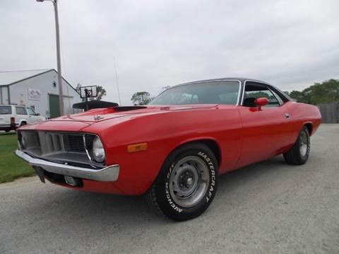 1973 Plymouth Barracuda CUDA 340 In Knightstown IN - 500 CLASSIC