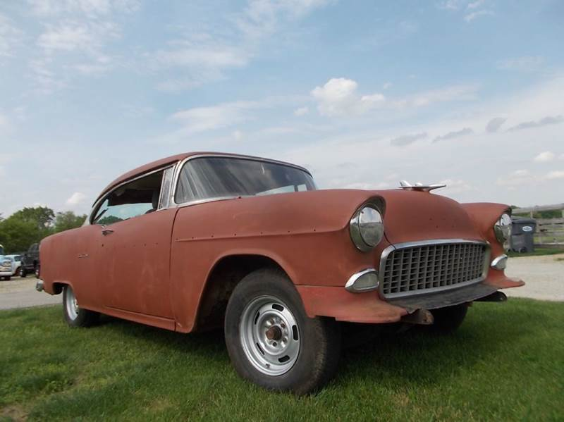 1955 Chevrolet Bel Air for sale at 500 CLASSIC AUTO SALES in Knightstown IN