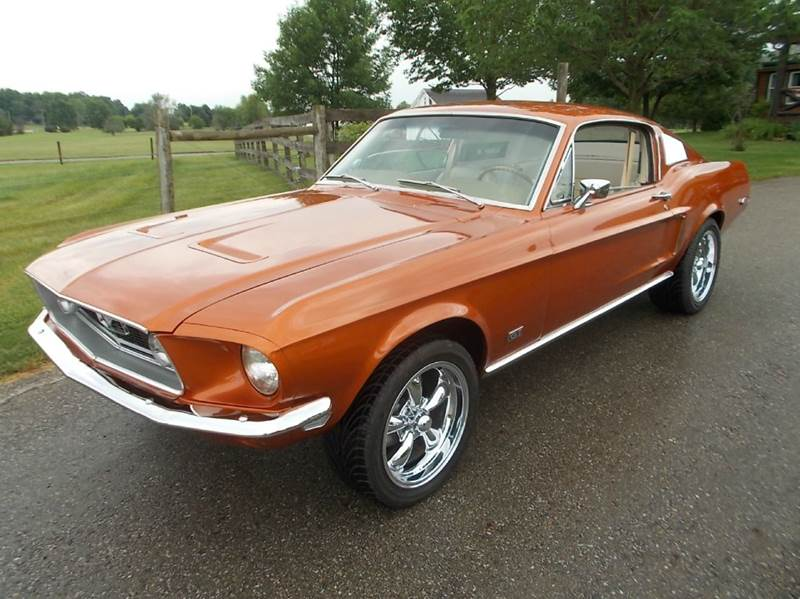 1968 Ford Mustang for sale at 500 CLASSIC AUTO SALES in Knightstown IN