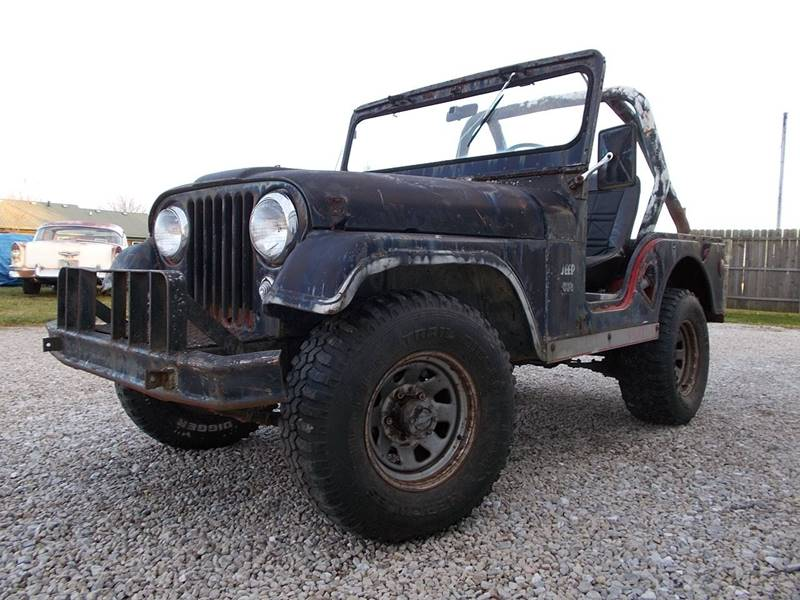 1957 Willys Jeep CJ5 - Knightstown IN