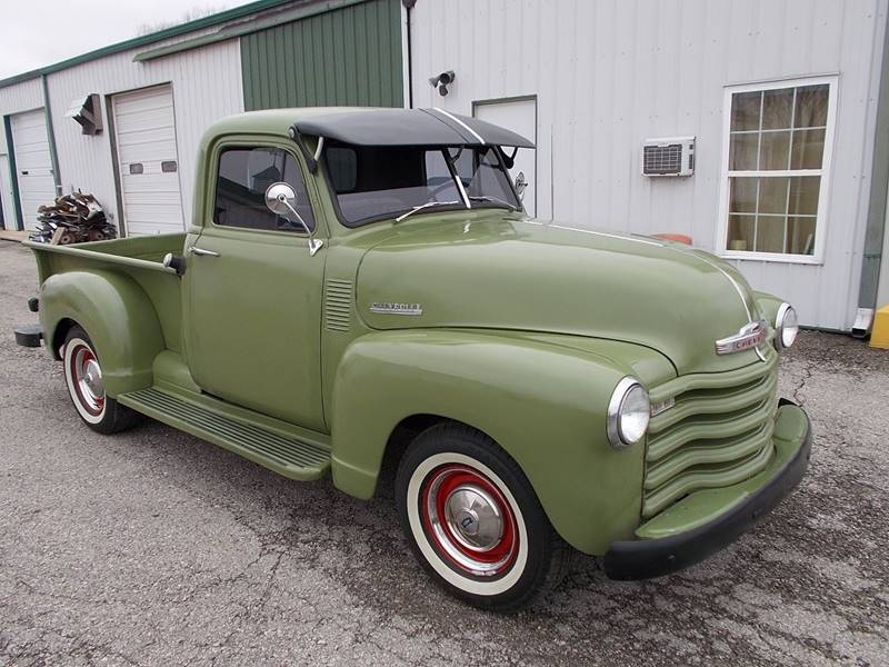 1952 chevrolet 3100 short bed in knightstown in 500 classic auto sales contact us about this car publicscrutiny Gallery