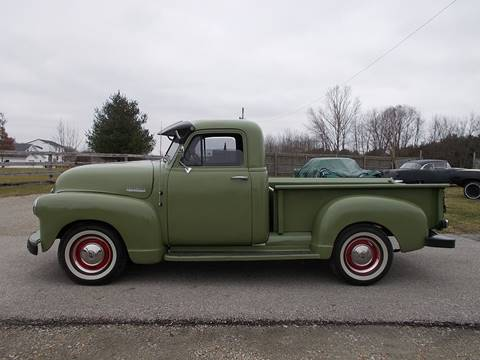 1952 Chevrolet 3100 for sale at 500 CLASSIC AUTO SALES in Knightstown IN