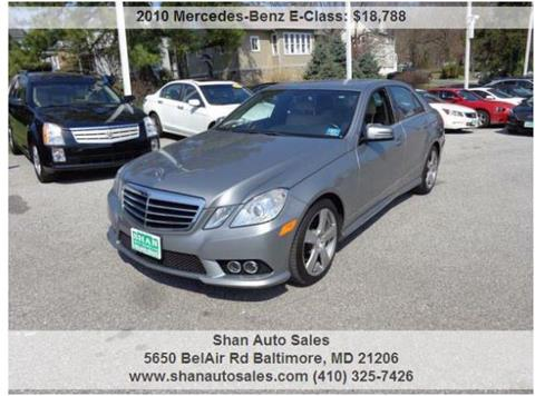 2010 Mercedes Benz E Class 76,520 Miles | Special $14,997