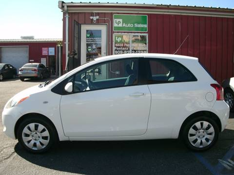 2008 Toyota Yaris for sale at LP Auto Sales in Fontana CA