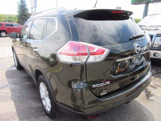 2015 Nissan Rogue AWD SV 4dr Crossover - Marquette MI