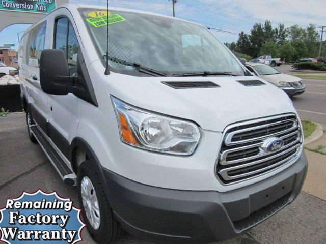 2016 Ford Transit Cargo 250 3dr SWB Low Roof Cargo Van w/60/40 Passenger Side Doors - Marquette MI