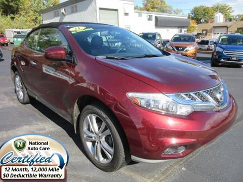 2011 Nissan Murano CrossCabriolet For Sale In Marquette, MI