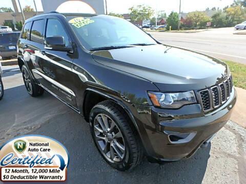 2016 Jeep Grand Cherokee for sale at Jon's Auto in Marquette MI