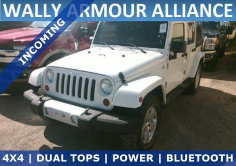 2010 Jeep Wrangler Unlimited for sale in Alliance, OH