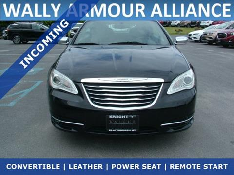 2011 Chrysler 200 Convertible for sale in Alliance, OH