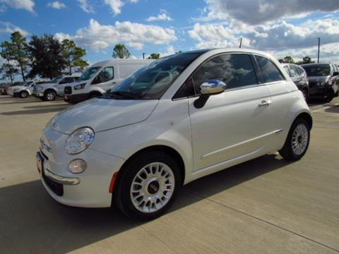 2013 fiat 500 lounge 2dr hatchback in houston tx - ron carter clear