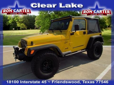 2001 Jeep Wrangler for sale in Houston, TX