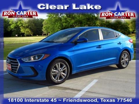 2017 Hyundai Elantra for sale in Houston, TX