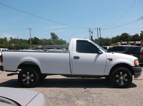 2002 Ford F-150 for sale at AUTO PRO in Oklahoma City OK