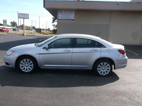 2012 Chrysler 200 for sale at AUTO PRO in Oklahoma City OK