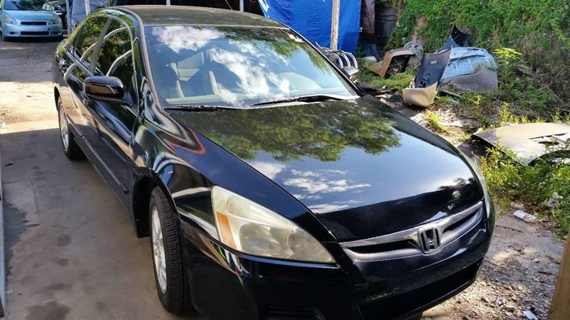 2007 Honda Accord For Sale At Fantasy Motors Inc. In Orlando FL