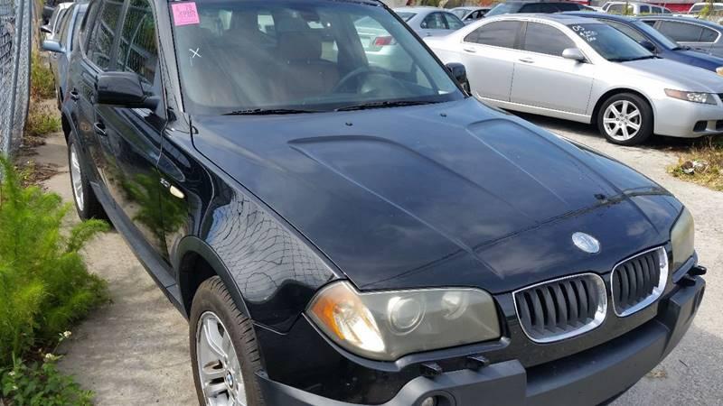 2005 BMW X3 3.0i In Orlando FL - Fantasy Motors Inc.