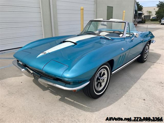 1965 Chevrolet Corvette for sale at AllVette LLC in Stuart FL