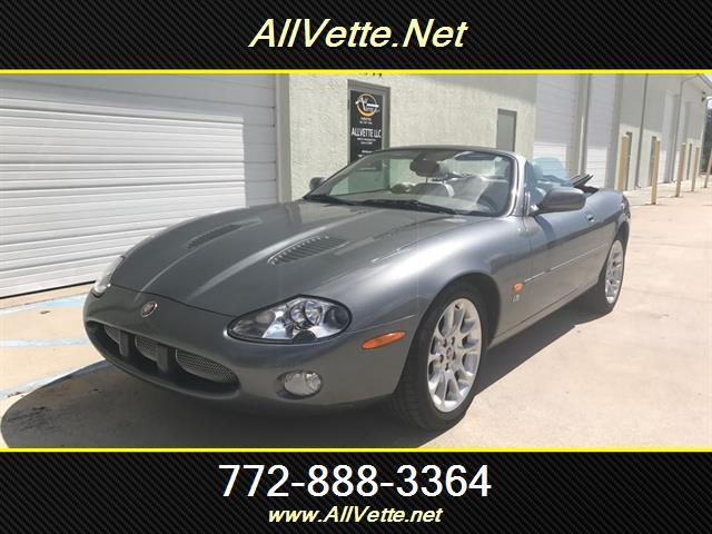 2002 Jaguar XKR for sale at AllVette LLC in Stuart FL
