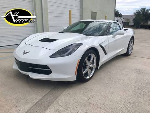 2015 Chevrolet Corvette for sale at AllVette LLC in Stuart FL