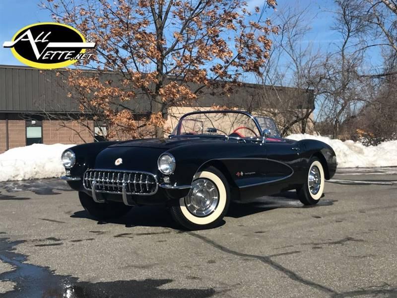 1957 Chevrolet Corvette for sale at AllVette LLC in Stuart FL