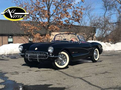 1957 Chevrolet Corvette for sale at AllVette LLC in Stuart FL