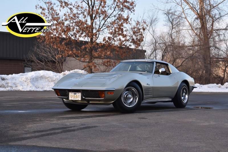1972 Chevrolet Corvette for sale at AllVette LLC in Stuart FL