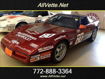 1988 Chevrolet Corvette for sale at AllVette LLC in Stuart FL